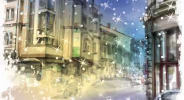 """Christmas at The 23rd Street"" - holiday fiction by Patricia Crisafulli"